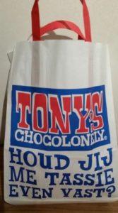 tasje tony's chocolonely
